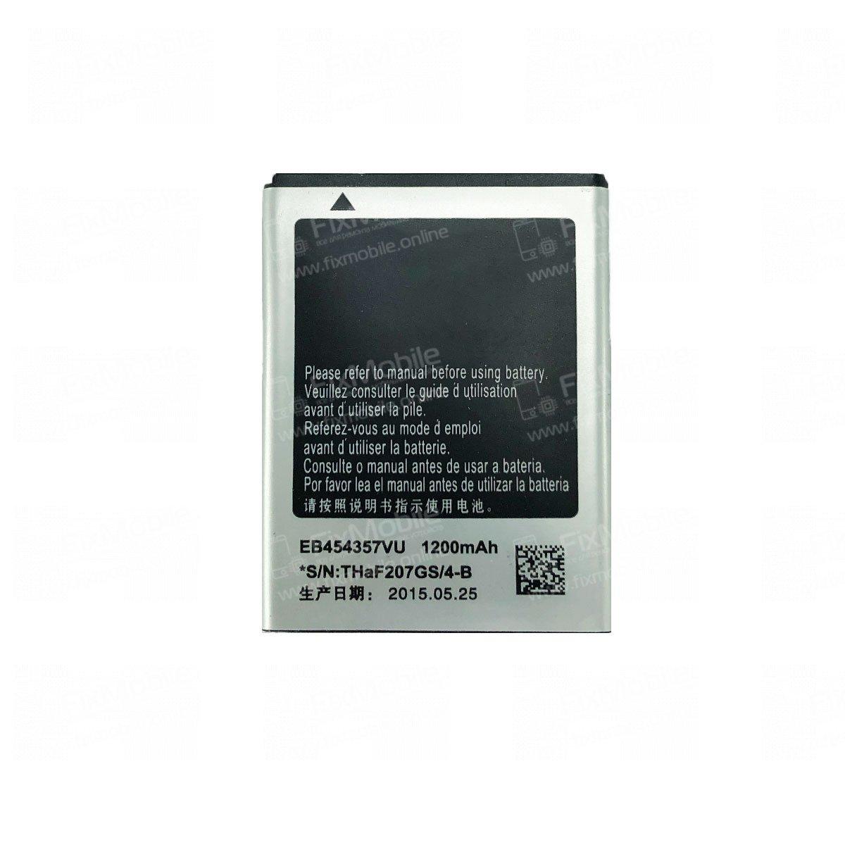 Аккумуляторная батарея для Samsung S5360 EB454357VU