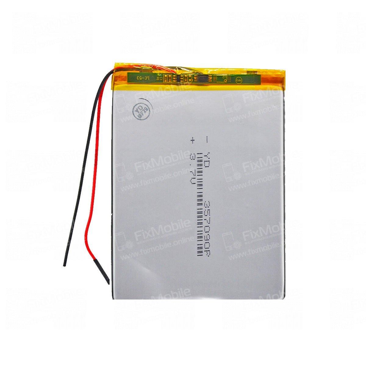 Аккумуляторная батарея универсальная 357090p 3,7v 2500 mAh 3.5*70*90 мм