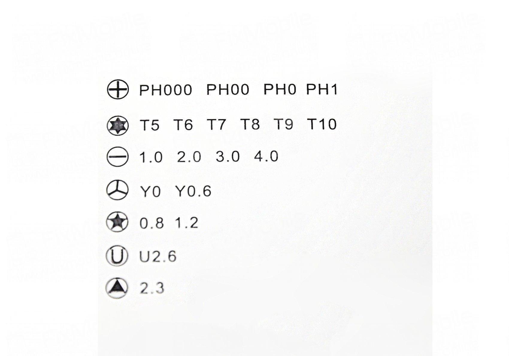 Отвертка с насадками Kaisi KS-840012 22 в 1