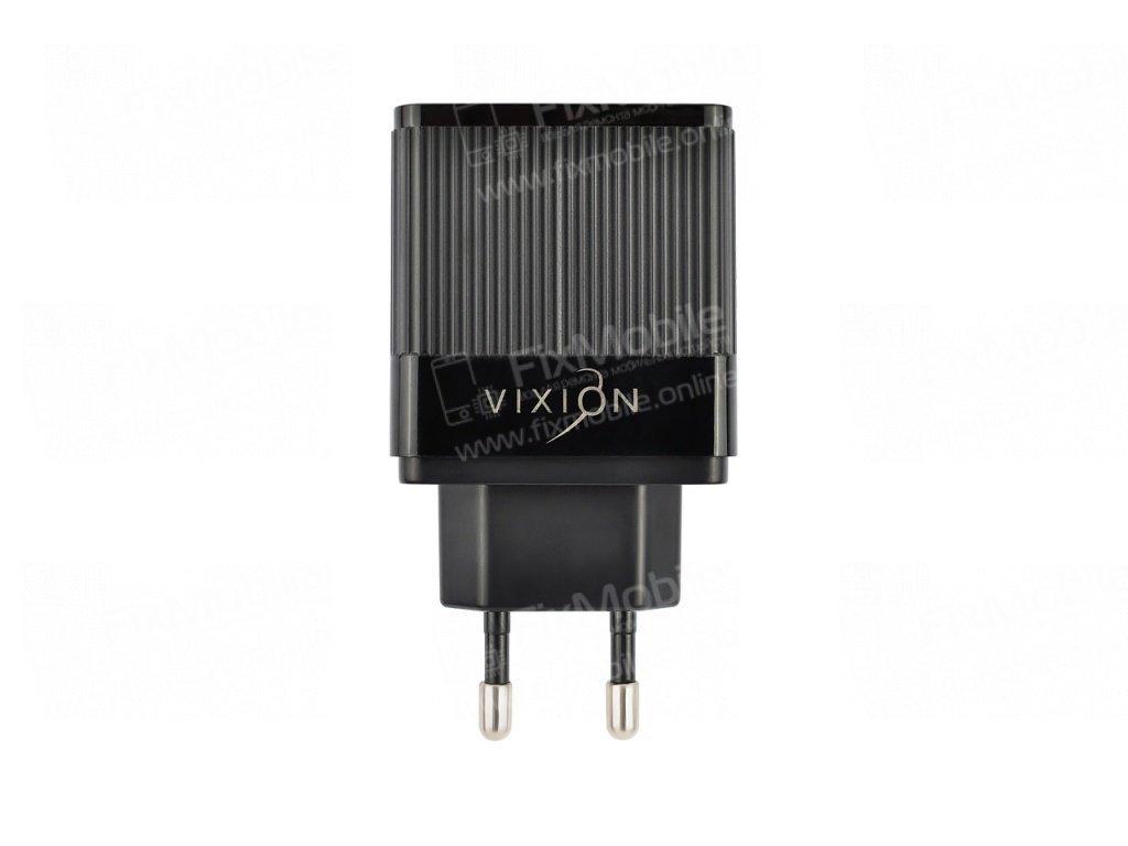 Сетевое зарядное устройство VIXION H2 USB 2.1A Quick Charger 3.0 (черное)
